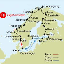 Grand Scandinavia Fly Stay Itinerary