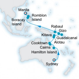 The Great Barrier Reef and Beyond Crystal Cruises Cruise