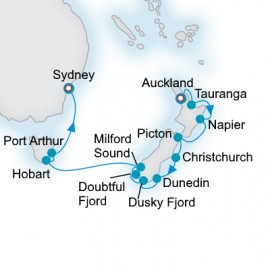 New Zealand Grandeur Crystal Cruises Cruise