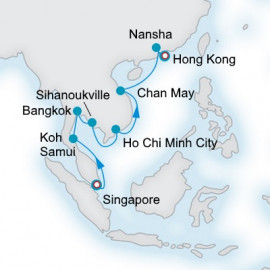 South China Sea Collection Crystal Cruises Cruise