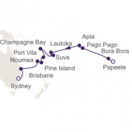 Pacific Island Adventure Itinerary