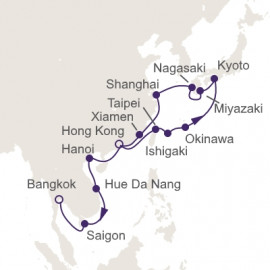 Eastern Gems Itinerary