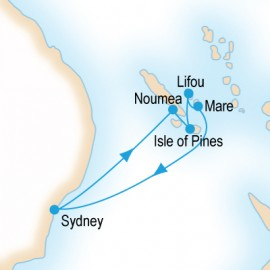 Explore the Loyalty Islands Cruise