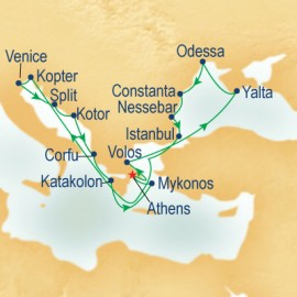 Black Sea & Mediterranean Princess Cruises Cruise