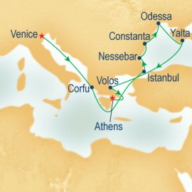 Black Sea & Crimean Coasts Princess Cruises Cruise