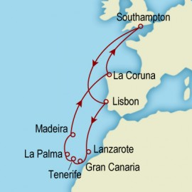 Canary Islands Explorer Cunard Cruise
