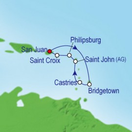 South Caribbean New Year Cruise