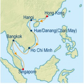 Southbound Asian Allure Celebrity Cruises Cruise