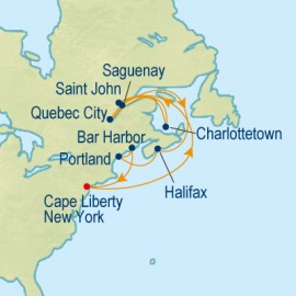 Canada & New England Celebrity Cruises Cruise
