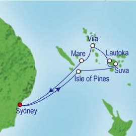 South Pacific Fiji Cruise
