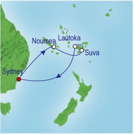 South Pacific & Fiji Cruise