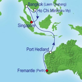 Fremantle To Singapore Cruise
