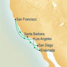 California Coastal Princess Cruises Cruise