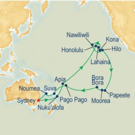 Hawaii, Tahiti & South Pacific Cruise