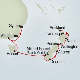 Australia & New Zealand Holland America Line Cruise
