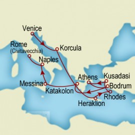 Greek Isles and Italian Idyll Cunard Cruise