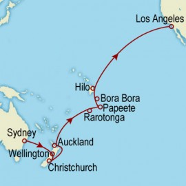 World Cruise Sydney to Los Angeles Sector Cruise