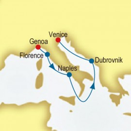 Italy & Croatia P&O Cruises UK Cruise