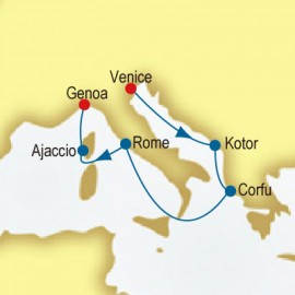 Italy, Greece & France P&O Cruises UK Cruise