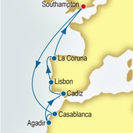 Morocco, Portugal & Spain P&O Cruises UK Cruise