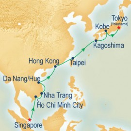 South Asia & Japan Cruise