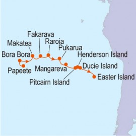 Legends of the South Pacific Linblad Expedition Cruises Cruise
