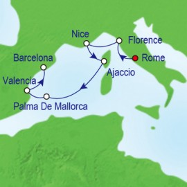 Rome To Barcelona Royal Caribbean Cruise