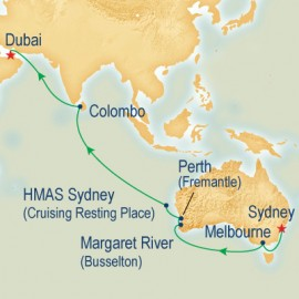 WC Sector Sydney to Dubai Cruise