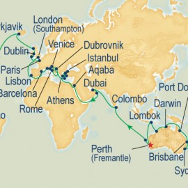 Perth Departure - World Cruise