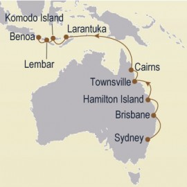 Gold Coast & Great Barrier Reef Cruise