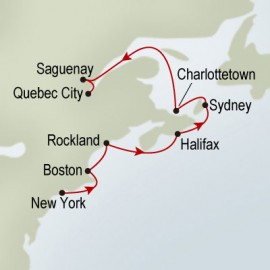 Colors Of Canada And New England Holland America Line Cruise