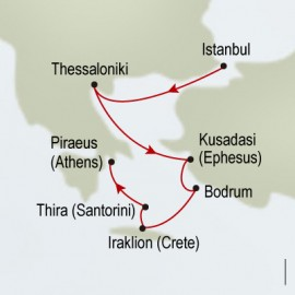 Greek & Turkish Empires Holland America Line Cruise