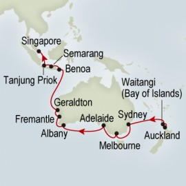 Auckland to Singapore Cruise