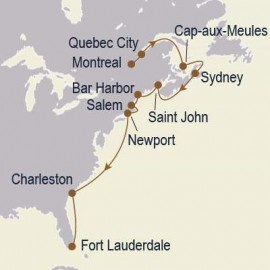 Atlantic Coast Harbors Seabourn Cruise