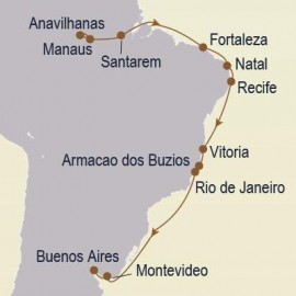 The Amazon & Brazil Seabourn Cruise