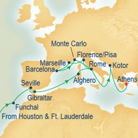 Mediterranean & Adriatic Grand Adventure Cruise