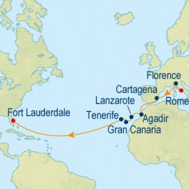 Three Continent Voyage Celebrity Cruises Cruise