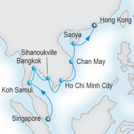Far East Overtures Itinerary