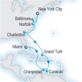 Colonial Collection Crystal Cruises Cruise