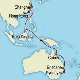 World Cruise: Sydney to Hong Kong Sector Cruise