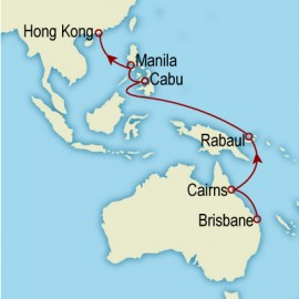 World Cruise Brisbane to Hong Kong Sector Cruise