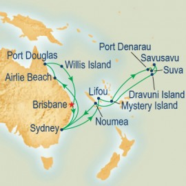 South Pacific Grand Adventure Cruise