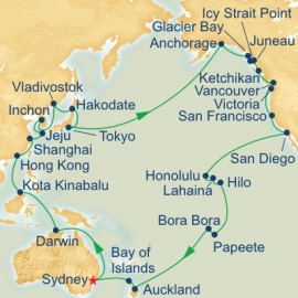 Circle Pacific Cruise