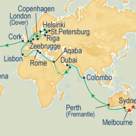 World Cruise Melbourne to Sydney Sector Cruise