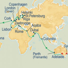 World Cruise Adelaide to Sydney Sector Cruise