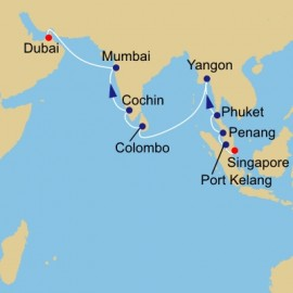 Indian Ocean Adventure Azamara Club Cruises Cruise