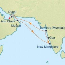 Arabian Sea and India Cruise Celebrity Cruises Cruise