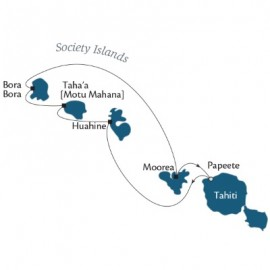Tahiti and Society Islands Fly Paul Gauguin Luxury Cruise Australia Cruise