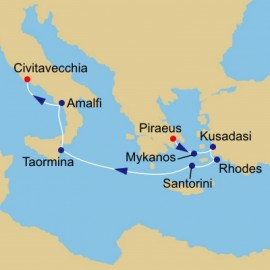 Greek Isles to Italy