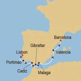 Iberian Adventure Azamara Club Cruises Cruise